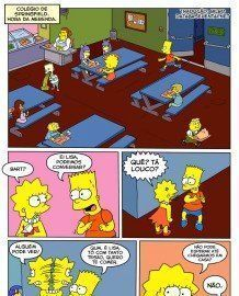 Bart e Lisa Simpsons – Fodem na Escola