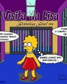 The Simpsons – Visita da Lisa