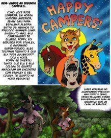 Happy Campers – Completo Cartoons Eróticos